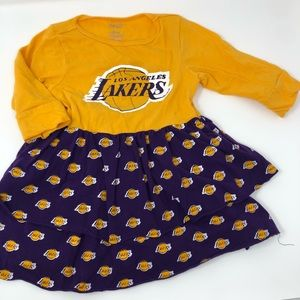 Other - 💜💛Lakers girl dress 💛💜 2t